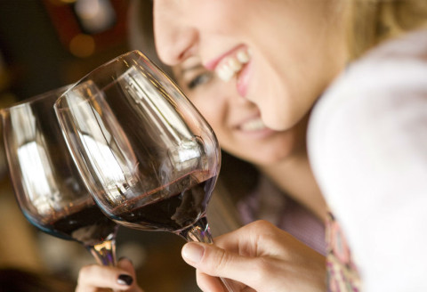 According to Science Drinking a Glass of Red Wine May Be Equal to an Hour at the Gym